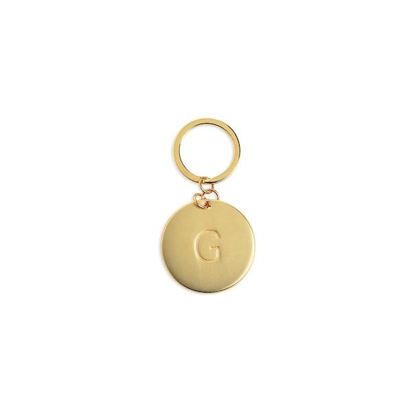 Schlüsselanhänger G, gold