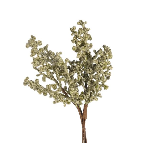Kunstblumenbündel Koralle, mintgrün
