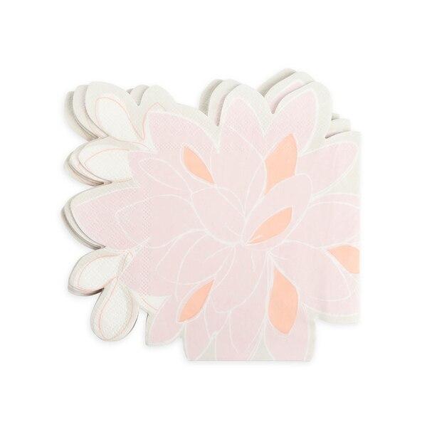 Serviette Bloomy, rosa