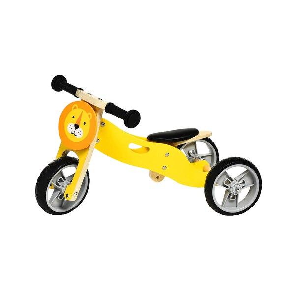 Lauf-/Dreirad Löwe, gelb