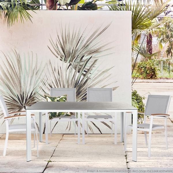 Moderne Outdoor-Garnitur