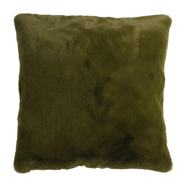 Kissenhülle Cozy Fur , olivgrün