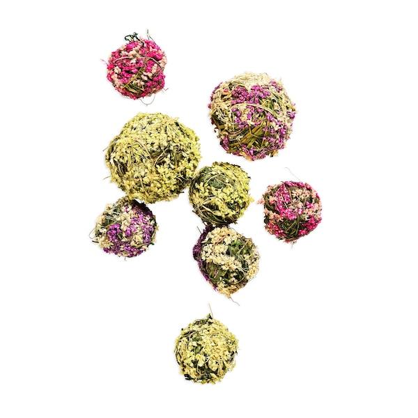 Blütenbälle, rosa
