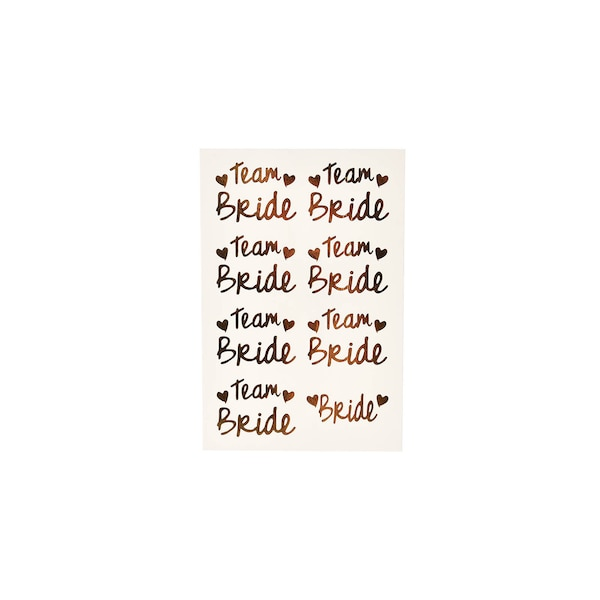 Tattooset Bride , gold