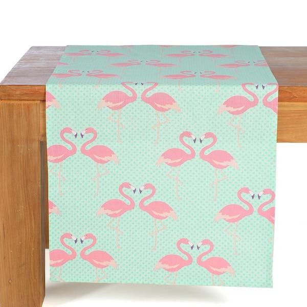 Tischläufer Flamingo, rosa