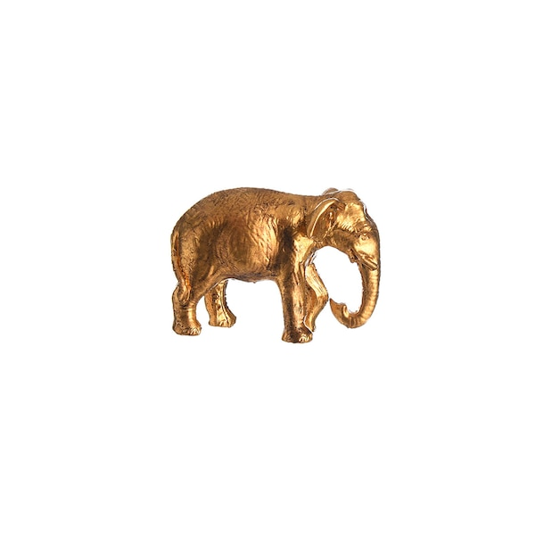 Dekofigur Elephant, gold