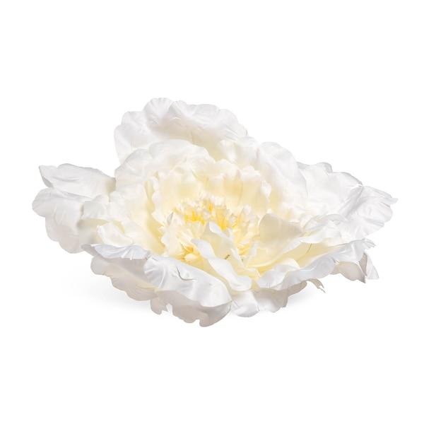 Kunstblüte Peonie, weiß