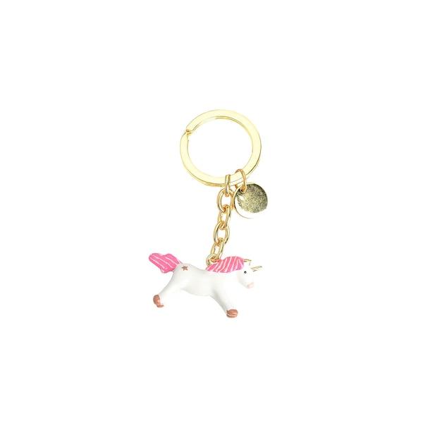 Schlüsselanhänger Einhorn, bunt