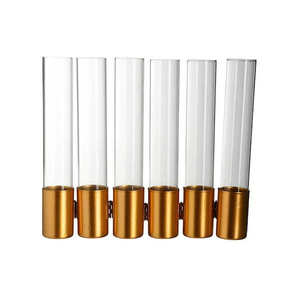 Vase Ikebana, gold