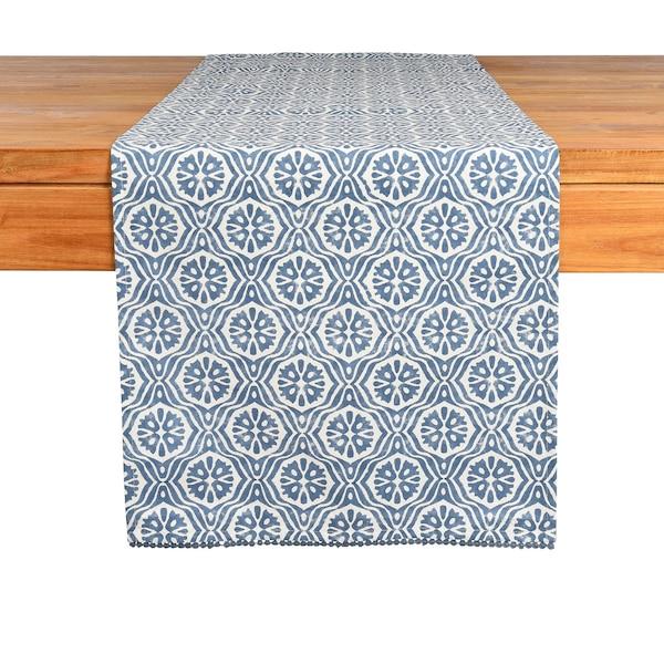 Tischläufer Blue Ornament, blau