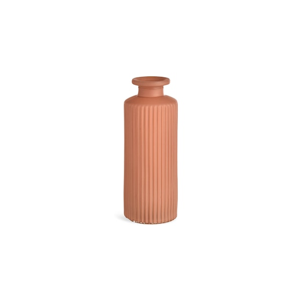 Vase Minibottle Stripe , altrosa
