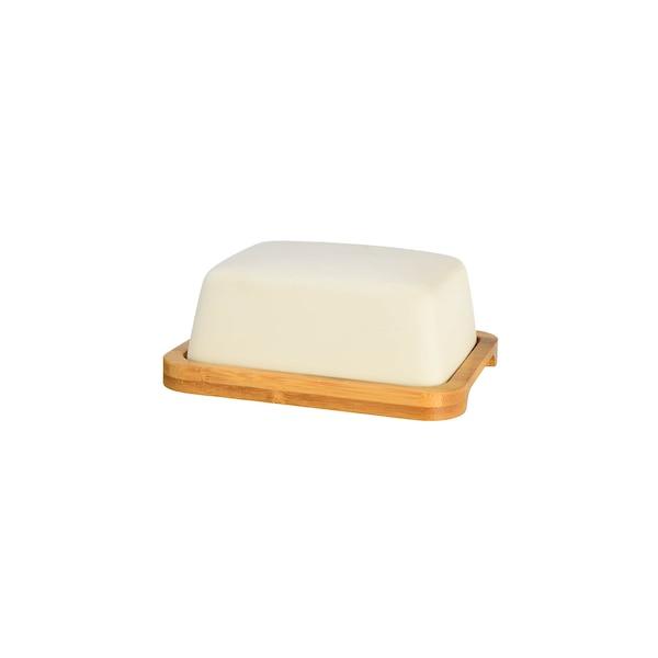 Butterdose, weiß