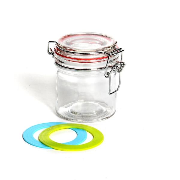 Glas mit Bügelverschluss, klar