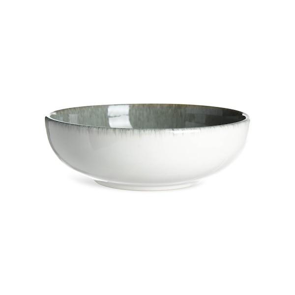 Schale Steinzeug, graugrün