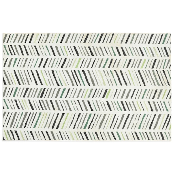 In- & Outdoor-Teppich DEPOT Sticks , grün