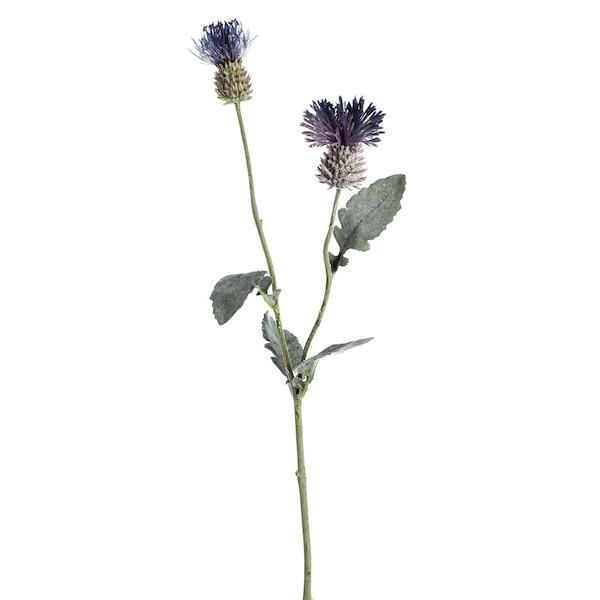 Kunstblume Distel, lila