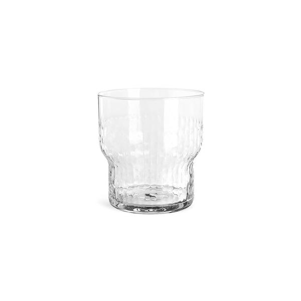 Trinkglas Hammered, klar