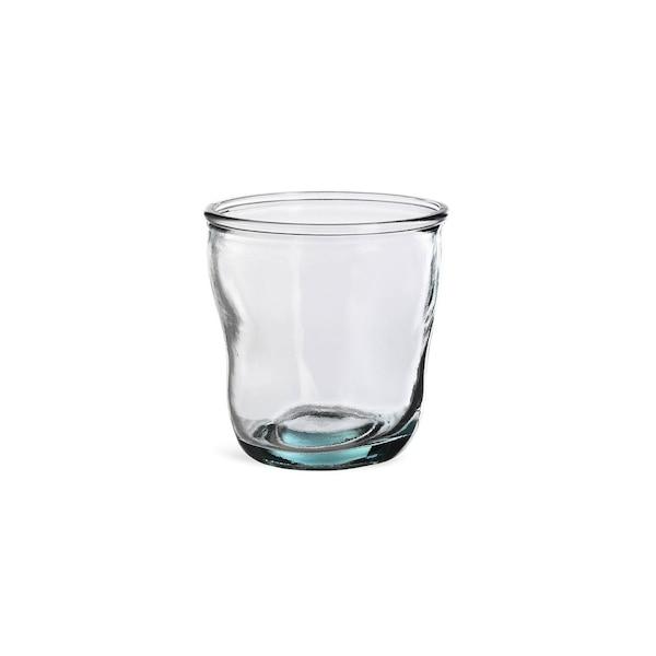 Trinkglas Recycled, blaugrün