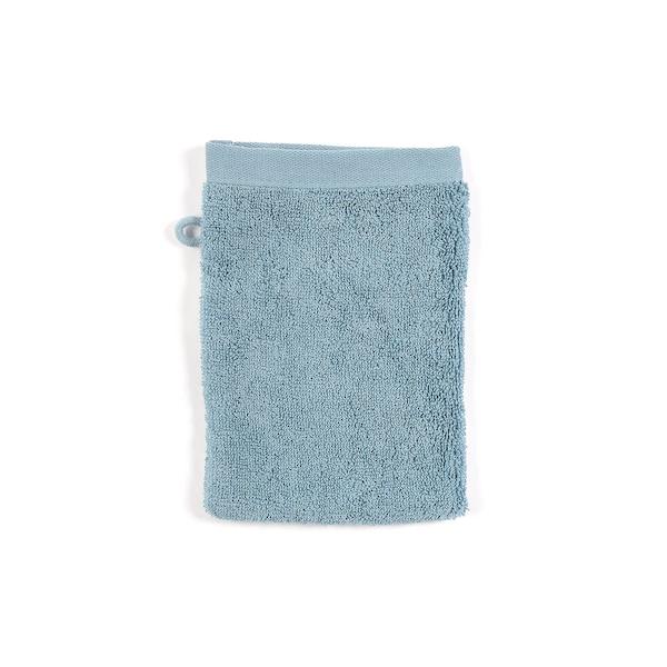 Waschhandschuh Pure, blaugrün