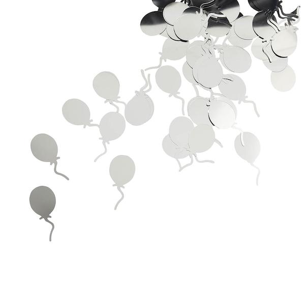Streuartikel Ballons, silber