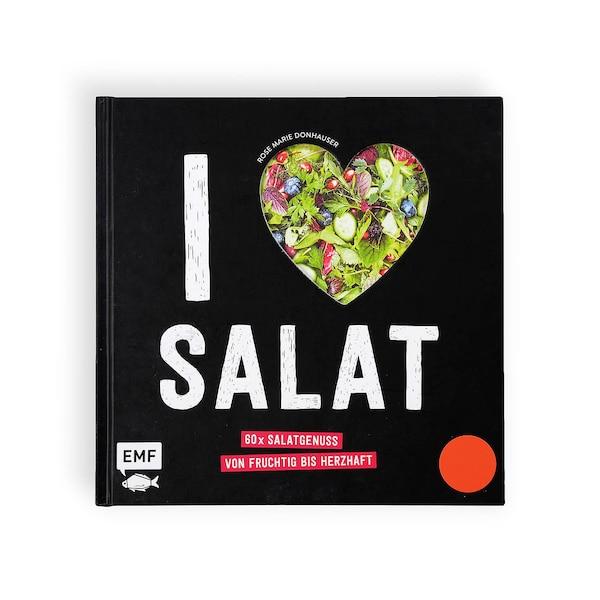 Buch I Love Salat, ohne Farbe