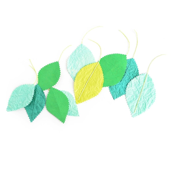 Streuartikel Blätter, grün