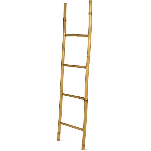 Deko-Leiter aus Bambus, natur