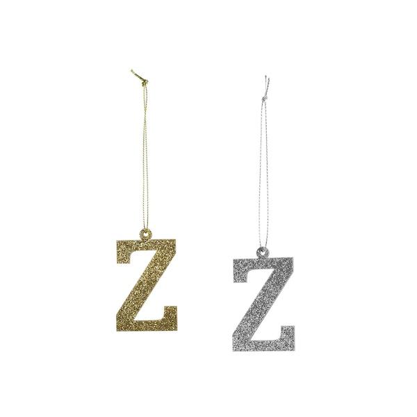 Anhänger Monogramm Z, bunt