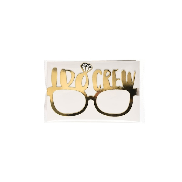 Papierbrille I Do, gold