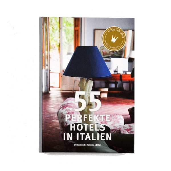 Buch 55 perfekte Hotels in Italien, ohne Farbe