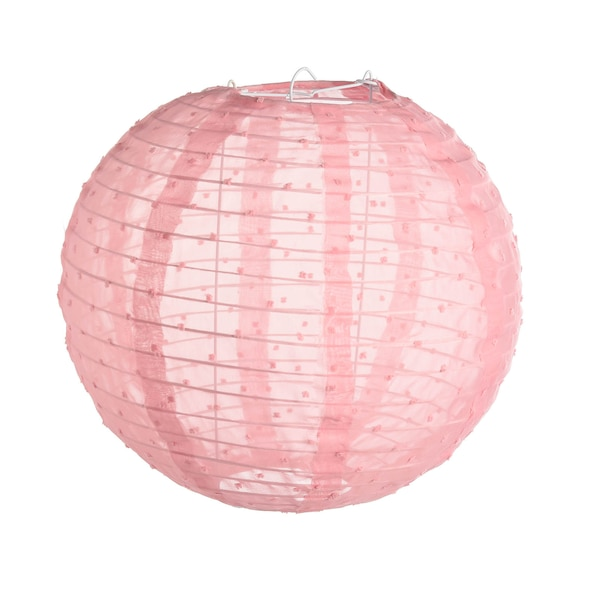Stofflampion, pink