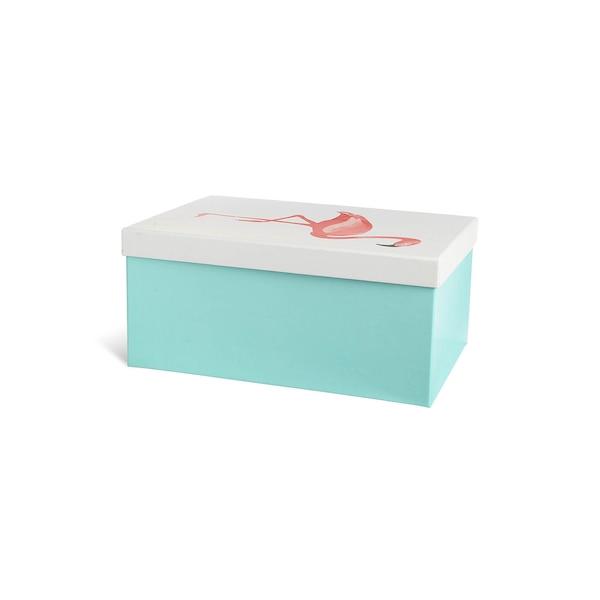 Geschenkbox Flamingo, bunt