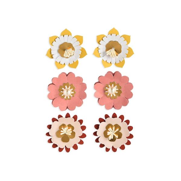 Sticker Blüten, bunt