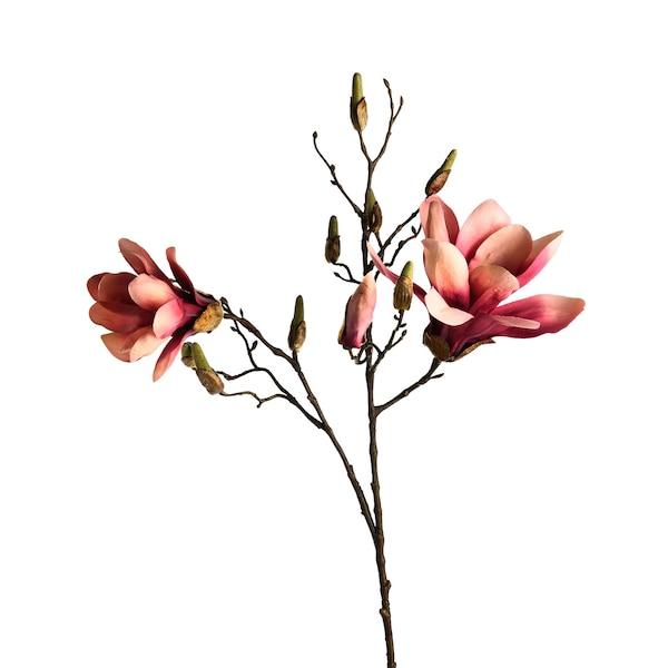Kunstzweig Magnolie, pink