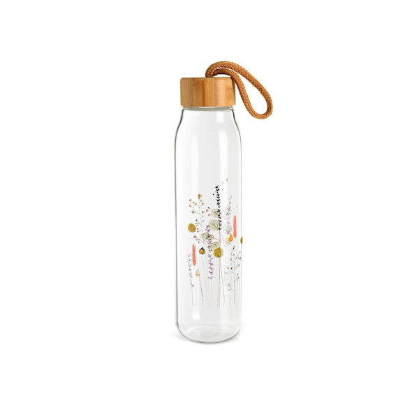 Trinkflasche Ikebana, klar