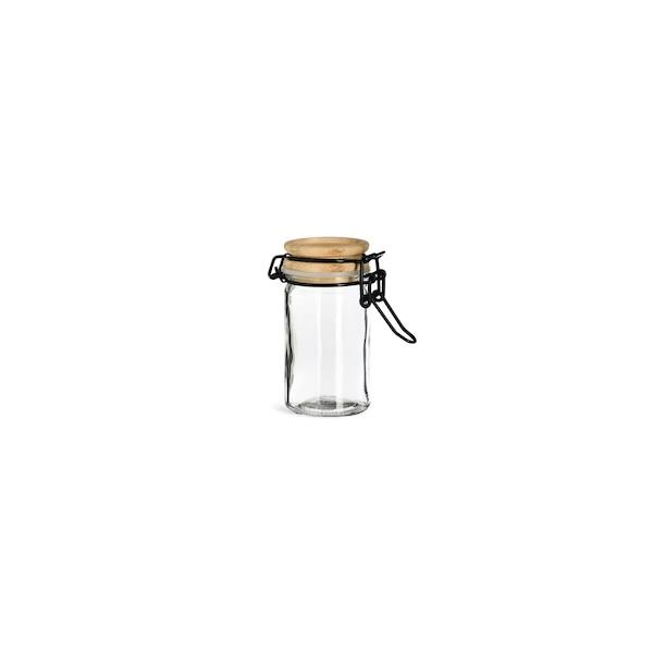 Vorratsglas mit Bügelverschluss, natur