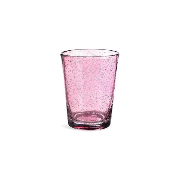 Trinkglas Bubble, beere