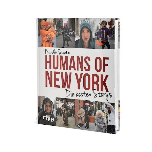 Buch Humans of New York, ohne Farbe
