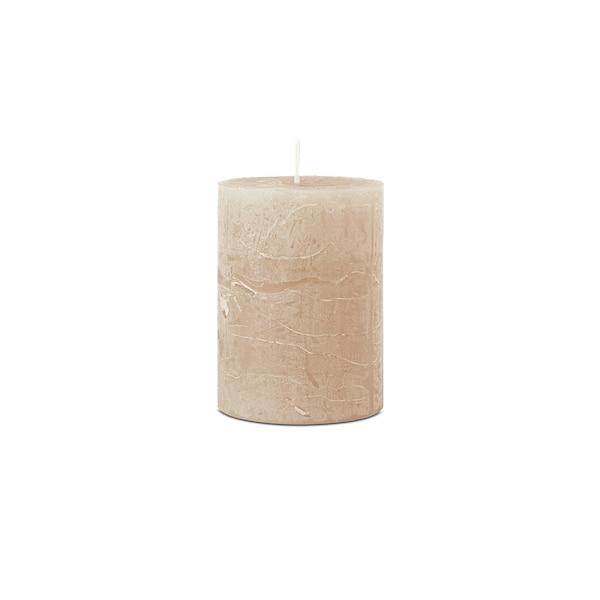 Bougie pilier Rustic, naturel