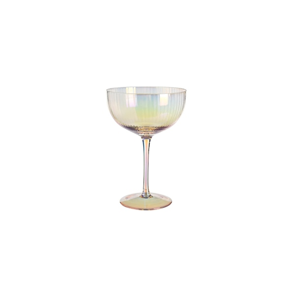 Champagnerglas Fancy, bunt