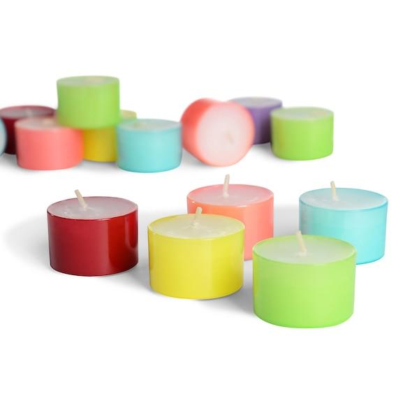 Teelichter, multicolore