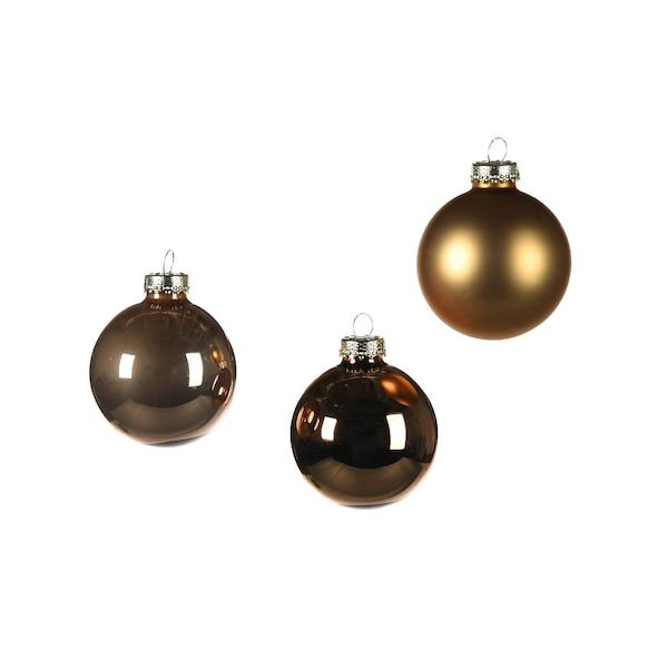 Weihnachtskugeln, gold