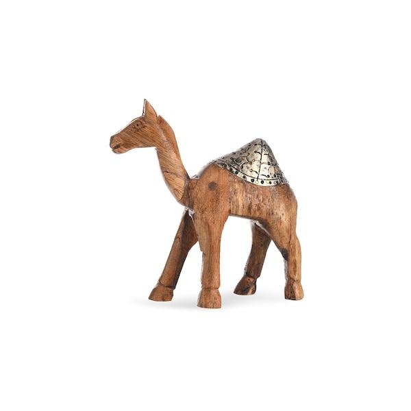 Dekofigur Kamel, braun