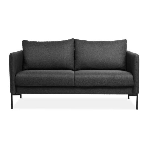 2,5-Sitzer Sofa, dunkelgrau
