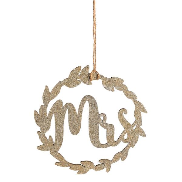 Glimmerkranz Mrs., gold