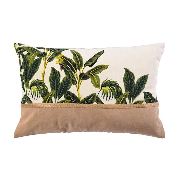 Kissenhülle Jungle, grün
