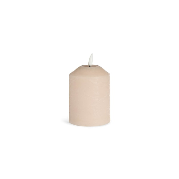 LED-Kerze mit Timer, nude