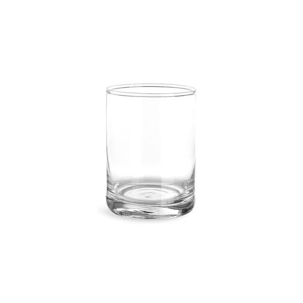 Zylindervase aus Glas, clair