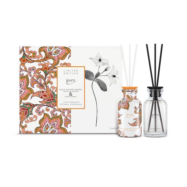 ipuro Raumduft-Set Limited Edition, Summer & Blanc, ohne Farbe