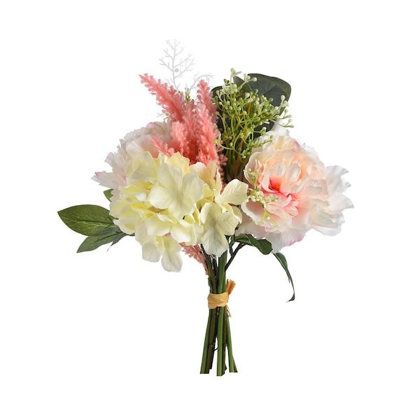 Kunstblumenstrauß Romantic, rosa